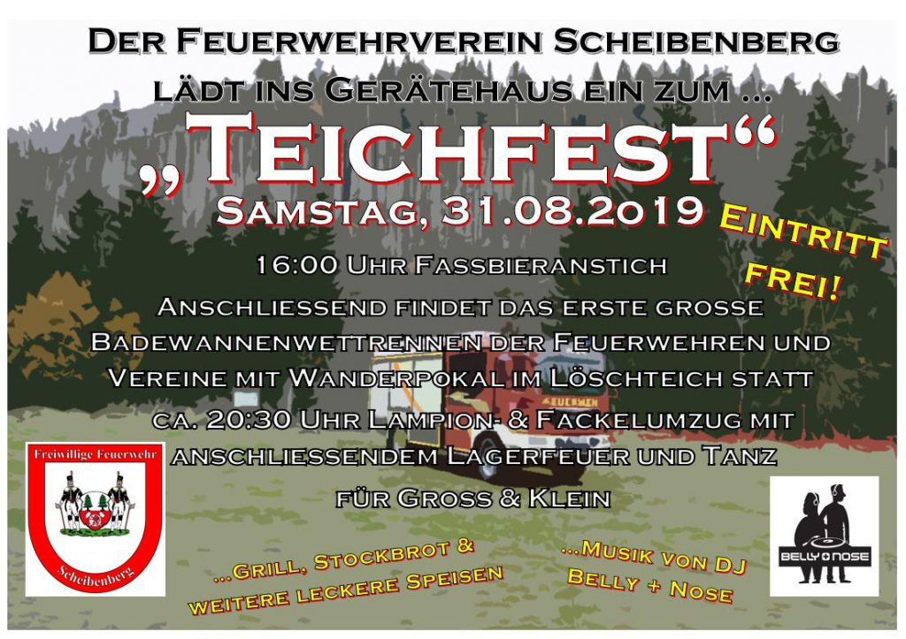 Feuerwehrfest @ Feuerwehrdepot